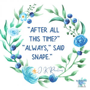 """""""After all this time?"""" """"Always,"""" said Snape."""" Harry Potter"""
