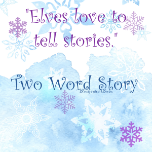Two Word Story - a game to play during Facebook parties
