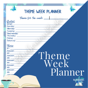 Theme Weeks Planner cover